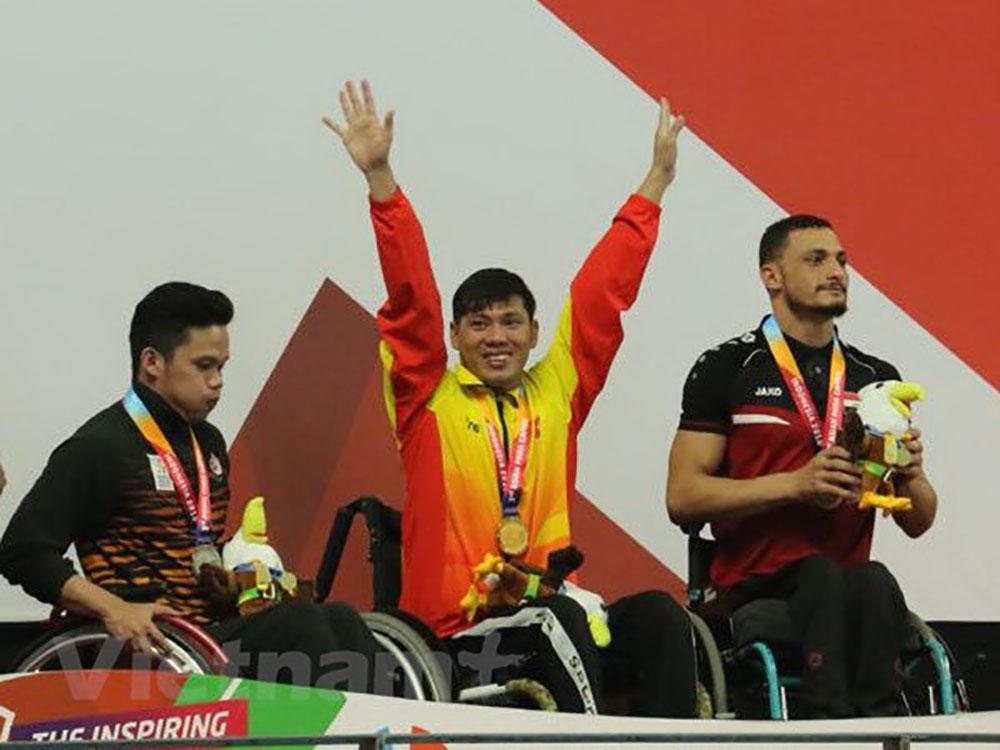 Asian Para Games 2018, Võ Thanh Tùng, giành tấm HCV thứ hai