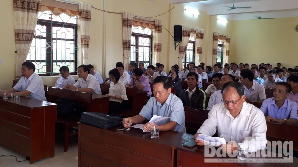 Bồi dưỡng nghiệp vụ công tác dân vận, Lục Nam, Bắc Giang, Báo Bắc Giang