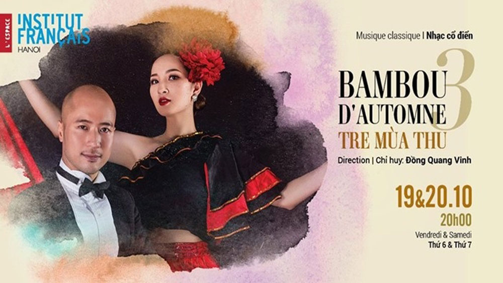 Concert Autumn Bamboo, Hanoian audiences, Music lovers, classic concert,  Tre Mua Thu, Vietnamese folk songs, international choir