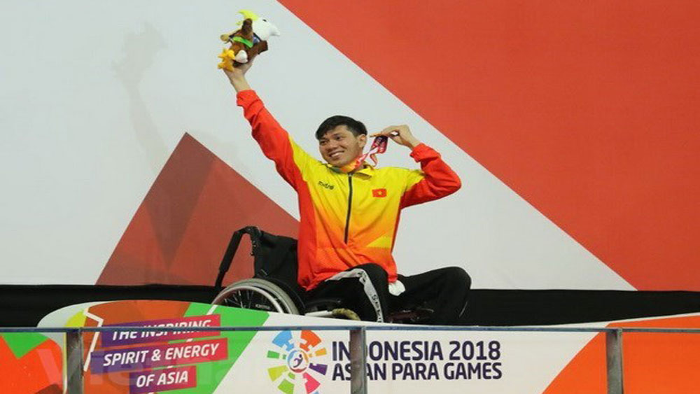 Asian Para Games 2018: Swimmer brings home another gold