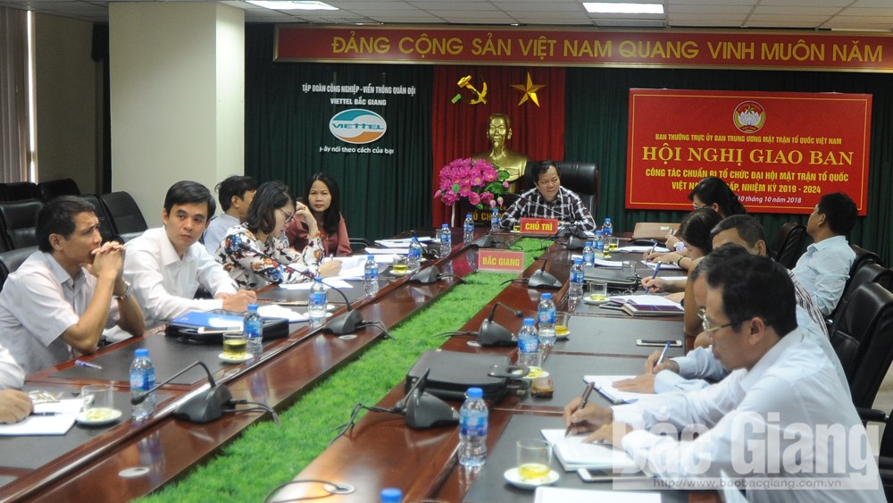 Làm tốt công tác chuẩn bị tổ chức đại hội Mặt trận Tổ quốc Việt Nam các cấp