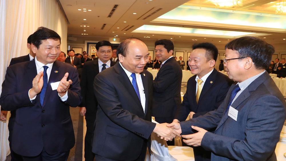 Thủ tướng Nguyễn Xuân Phúc, chủ trì, Hội nghị Xúc tiến đầu tư Việt Nam – Nhật Bản