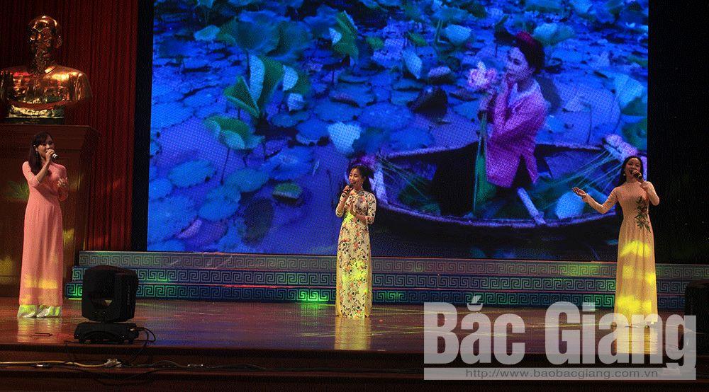 Bắc Giang, sông Thương, ca khúc, Nguyễn Cường, Giáng Son, Nguyễn Vĩnh Tiến, Lê Minh Sơn, Phó Đức Phương