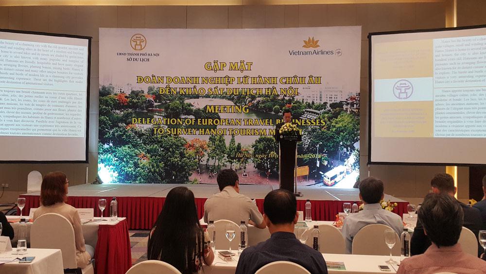 Doanh nghiệp, lữ hành, 11 quốc gia, châu Âu, khảo sát, hợp tác, du lịch, Hà Nội