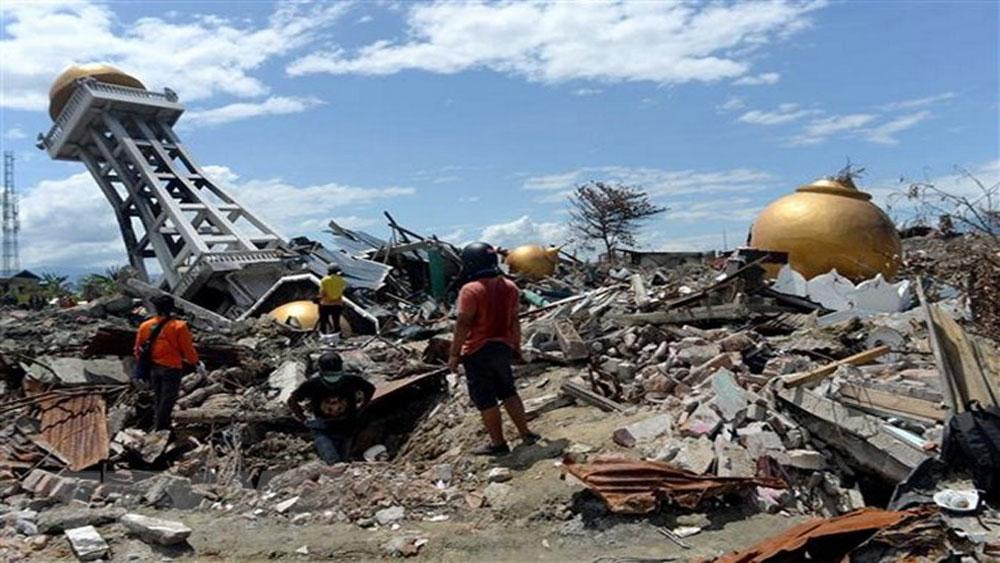 Động đất mạnh, khu vực, đảo Bali, Indonesia
