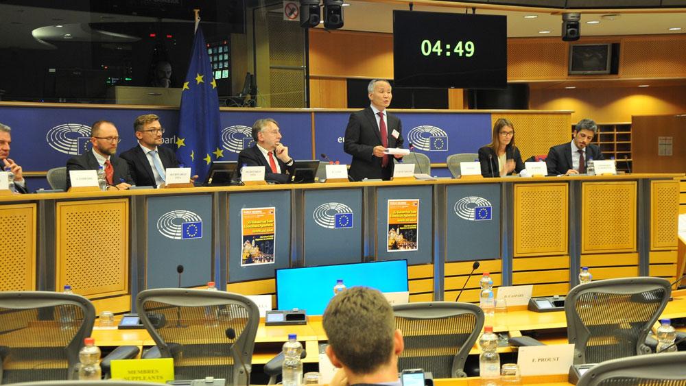 Điều trần, Nghị viện châu Âu, Hiệp định tự do thương mại Việt Nam-EU