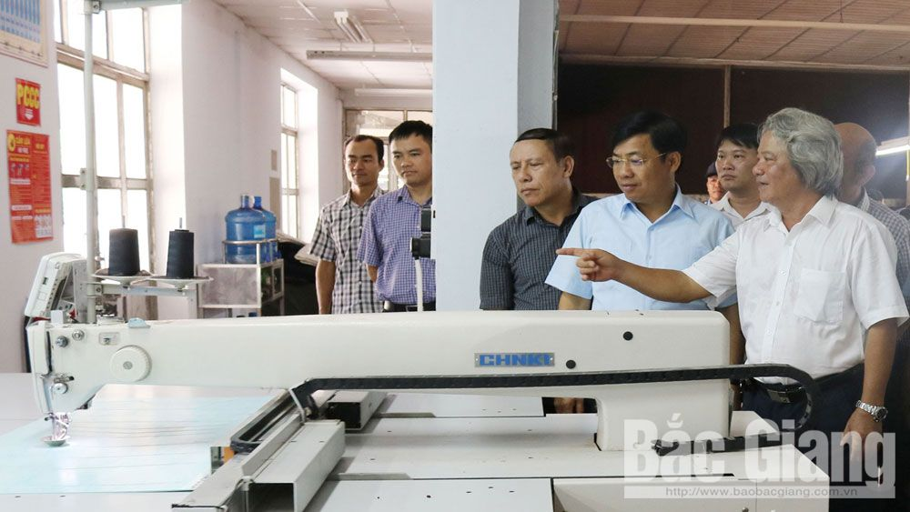 Bac Giang garment industry grasps opportunities to make breakthroughs
