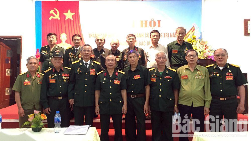 thành lập, Chiến sĩ Thành cổ, Quảng Trị, TP Bắc Giang