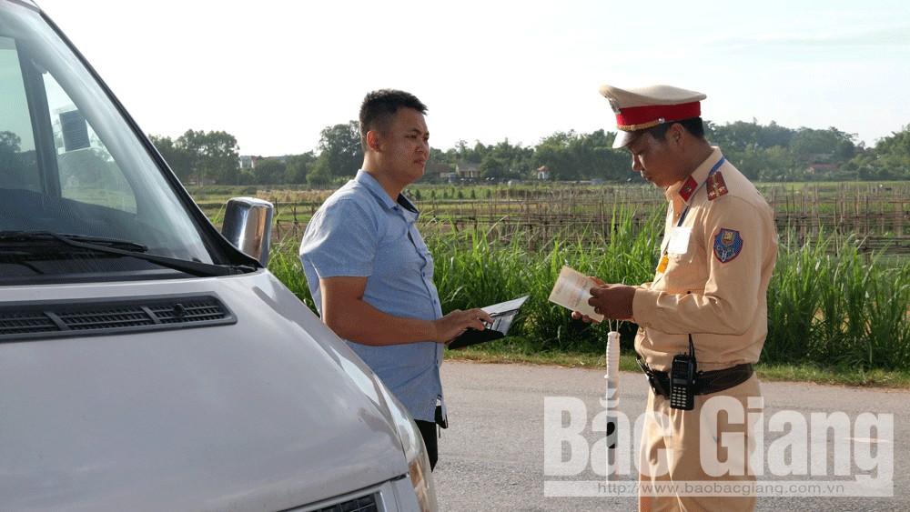 Trực tuyến; ATGT; Trương Hòa Bình, Bắc Giang, quý III-2018. bảo đảm ATGT