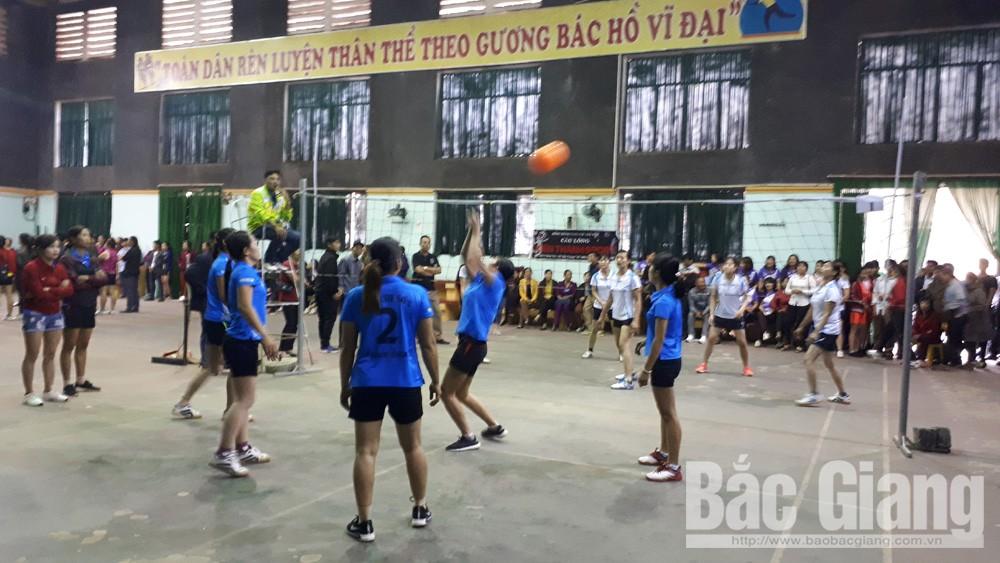 Khai mạc chung kết giải bóng chuyền hơi nữ năm 2018