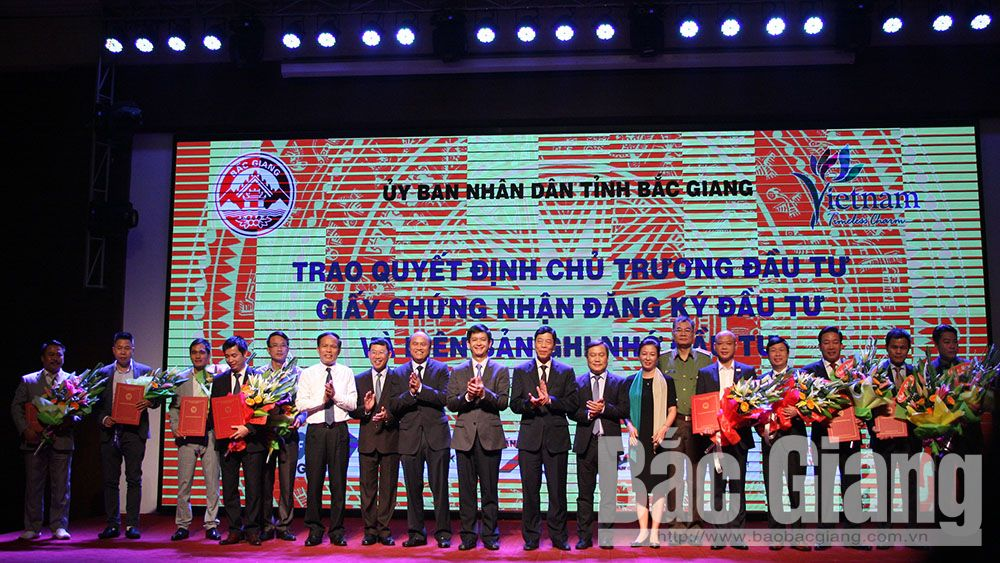 Bac Giang's tourism investment promotion conference 2018 creates cooperative opportunity and lures tourism development sources
