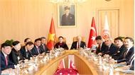 Chủ tịch Quốc hội Nguyễn Thị Kim Ngân hội đàm với Chủ tịch Quốc hội Thổ Nhĩ Kỳ