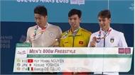 Kình ngư Nguyễn Huy Hoàng giành HCV Olympic trẻ