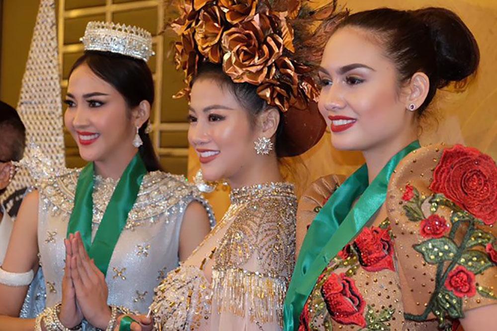 Đại diện Việt Nam, phần thi trang phục dân tộc, Miss Earth 2018, Phương Khánh, Linh San
