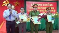 Khen thưởng đội phá chuyên án vụ cướp tài sản tại Phú Yên