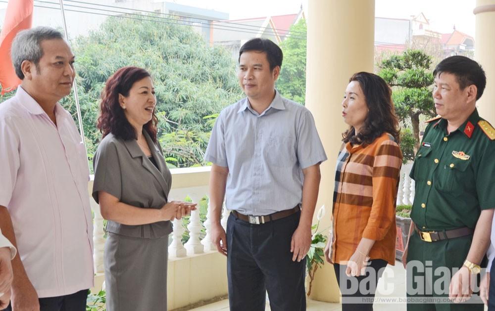 Bắc Giang, Tổng Bí thư, ngành Kiểm tra của Đảng, kiểm tra, giám sát, Uỷ ban Kiểm tra