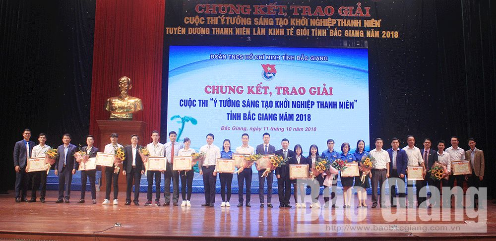 Bac Giang province, youth startup contest, innovative startup contest, Truong Dinh Tung, typical young people, typical economic models, pearl oyster farming
