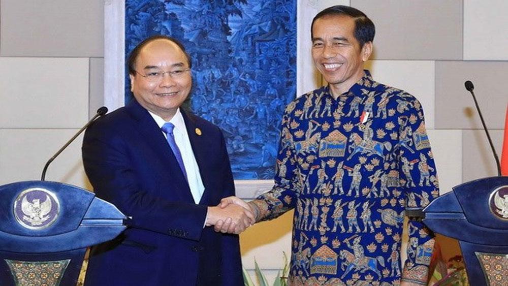 Thủ tướng Nguyễn Xuân Phúc, hội đàm, Tổng thống Indonesia Widodo