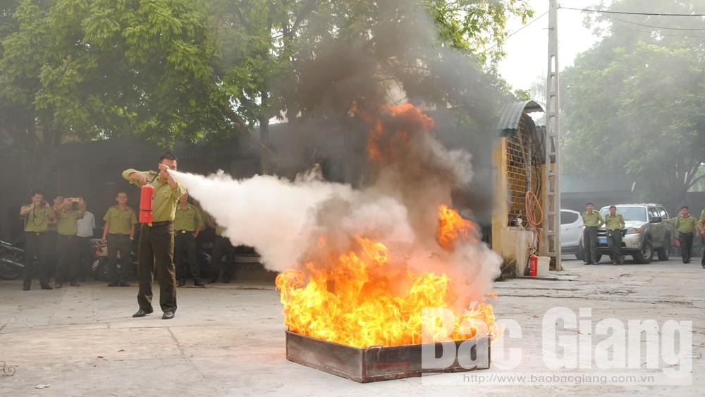 Trang bị kiến thức, nghiệp vụ phòng cháy chữa cháy rừng, đại la, PCCCR