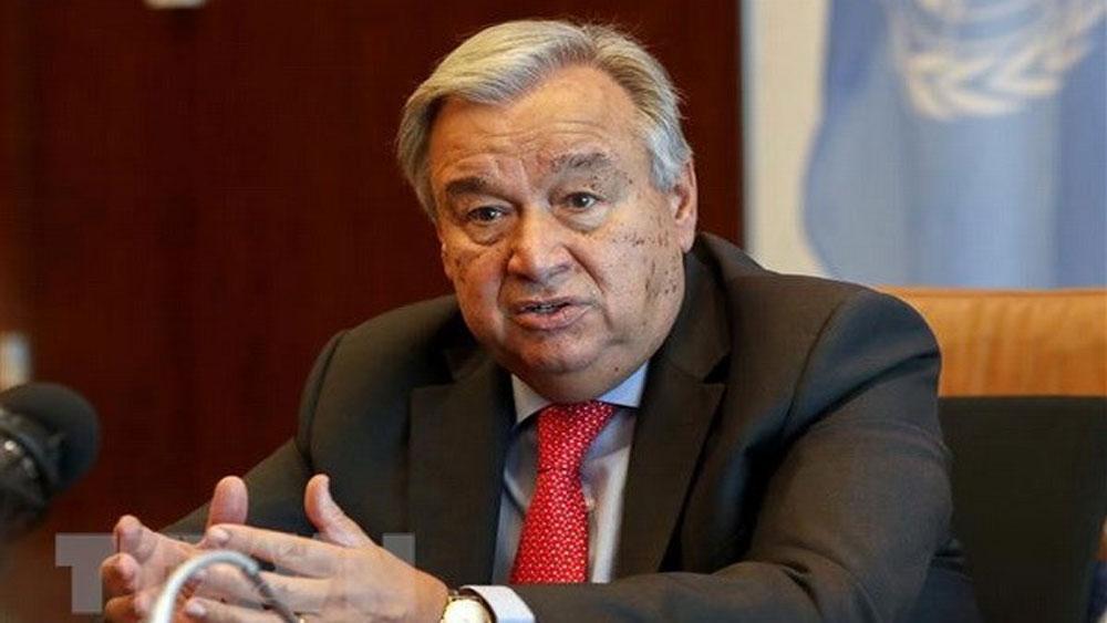 Động đất, sóng thần, Indonesia, Tổng Thư ký LHQ A.Guterres, khu vực bị ảnh hưởng