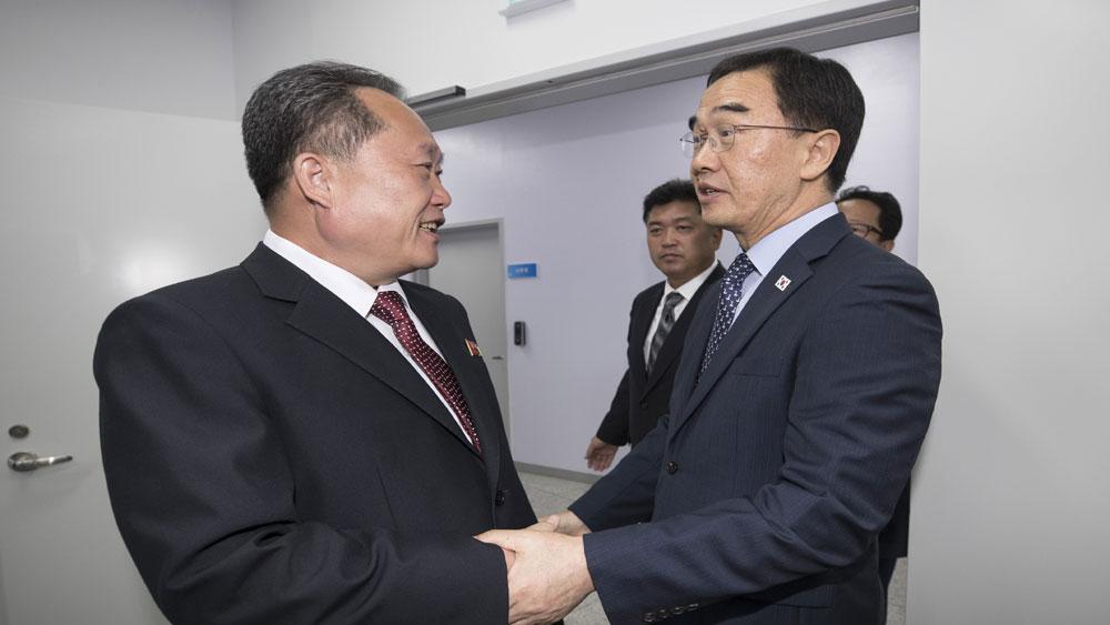 Hàn Quốc, Triều Tiên,  ấn định,  thời điểm, tổ chức, đối thoại cấp cao