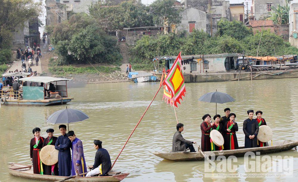 Viet Yen district, cultural tourism, spiritual tourism, experience tourism destination, Bac Giang province, relic sites, traditional craft villages, great potential, tourism development, specific steps, famous sites, long history