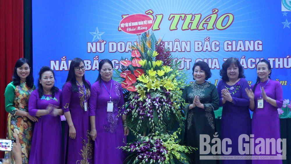Nữ doanh nhân Bắc Giang nắm bắt cơ hội, vượt qua thách thức