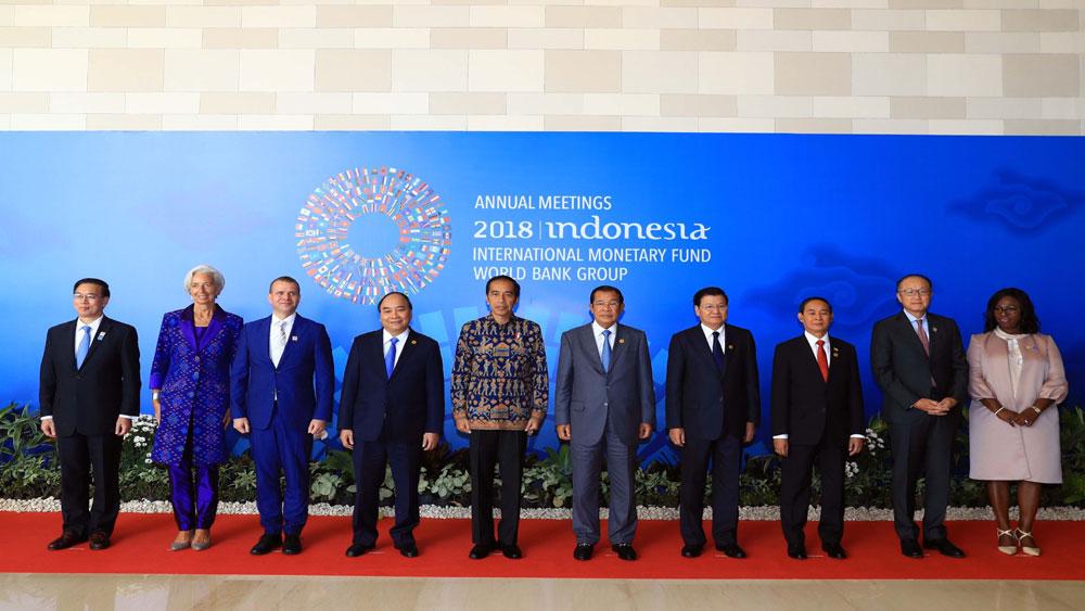 Thủ tướng Chính phủ Nguyễn Xuân Phúc, tham dự, khai mạc , Hội nghị thường niên IMF - WB năm 2018