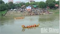 Sôi động Giải đua thuyền TP Bắc Giang lần thứ 3
