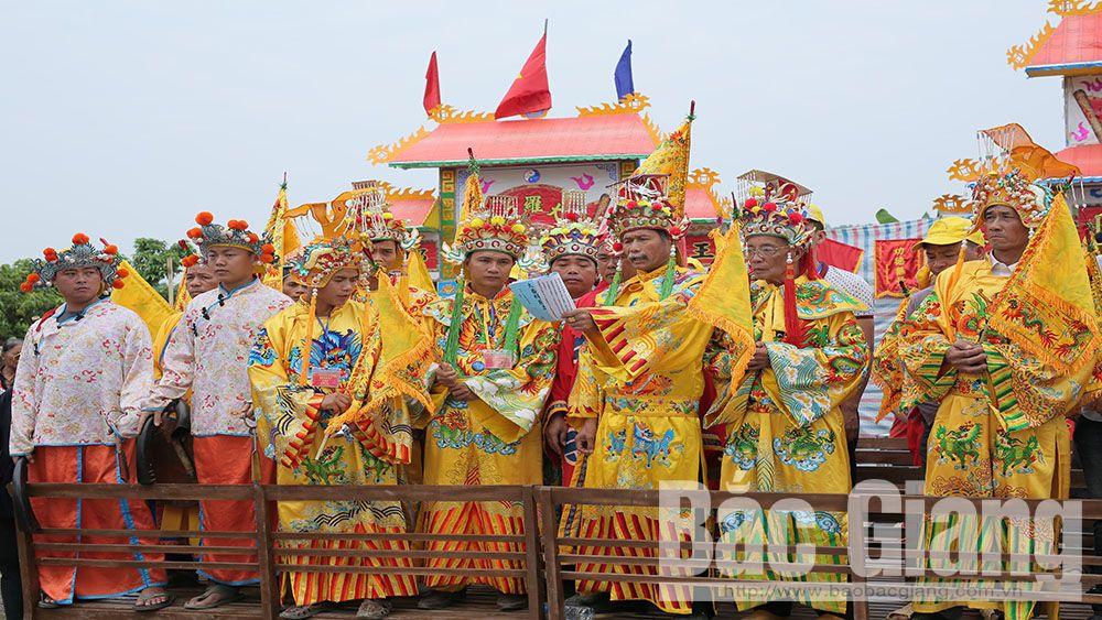 Lễ hội Cầu an của người Hoa xã Vô Tranh (Lục Nam): Cầu cho mưa thuận gió hòa, vạn vật sinh sôi