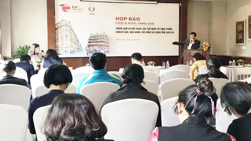 Food & Hotel expo to take place in Hanoi next month