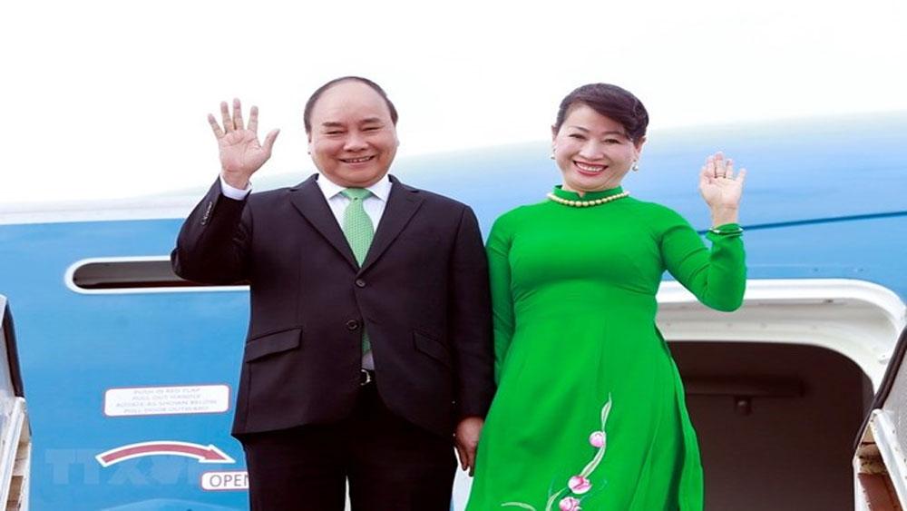 Thủ tướng Nguyễn Xuân Phúc lên đường tham dự ASEM 12, P4G và thăm chính thức Áo, Bỉ, Đan Mạch