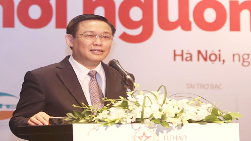 Phó Thủ tướng Chính phủ Vương Đình Huệ phát biểu chỉ đạo tại Diễn đàn.