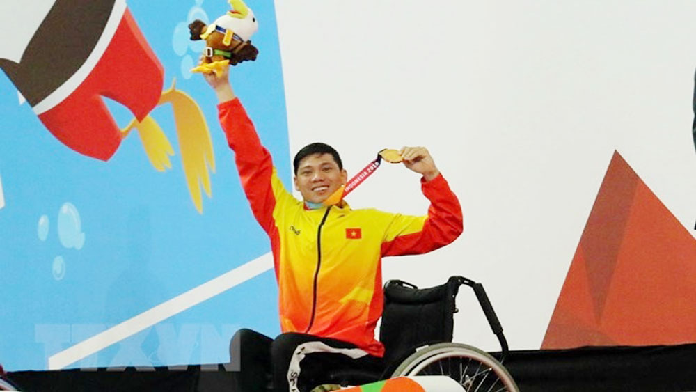 Vietnam exceeds gold medal target as curtain closes on Asian Para Games