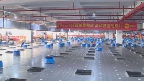 Đội quân robot xử lý 500.000 đơn hàng mỗi ngày