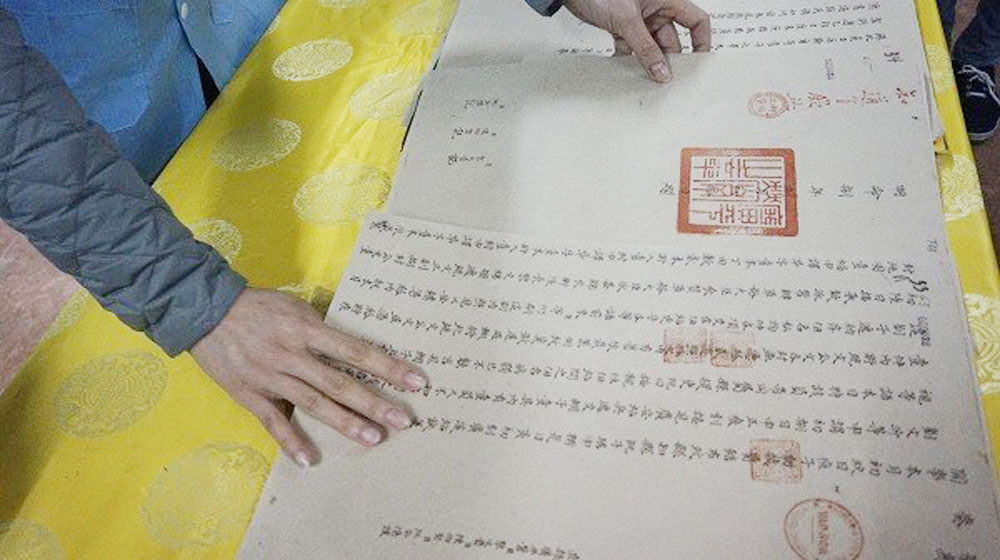 Nguyen Dynasty's reforms, chau ban, Administrative reforms, official administrative papers, modern society, examination compound, Royal Citadel