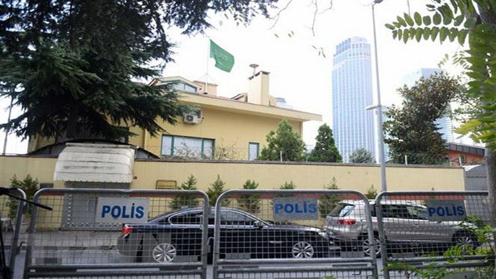 Thổ Nhĩ Kỳ khám xét lãnh sự quán Saudi Arabia sau vụ nhà báo mất tích