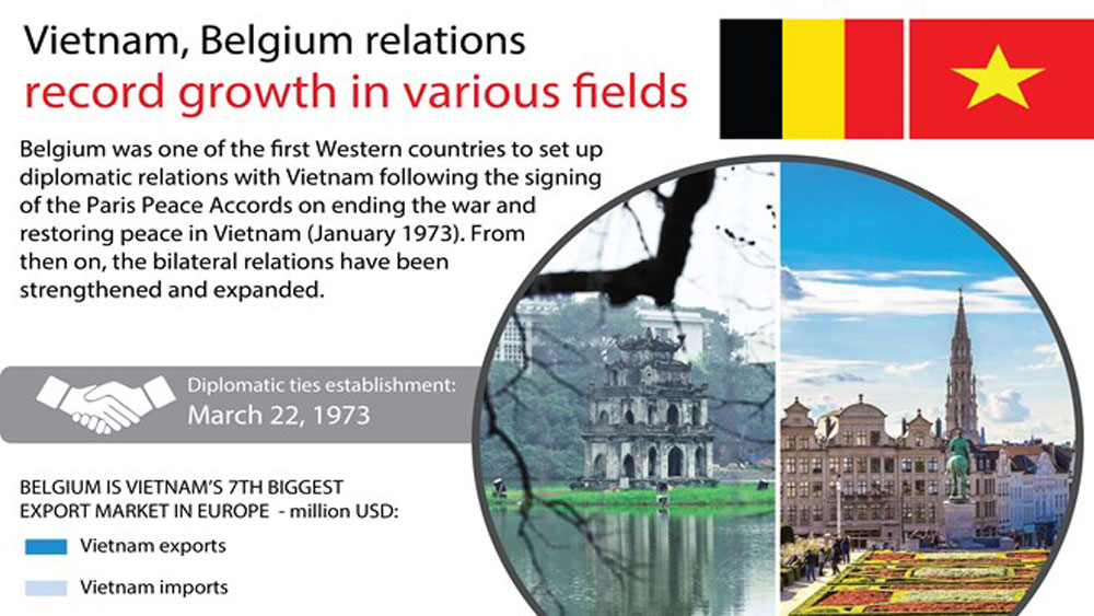 Vietnam, Belgium relations record growth in various fields