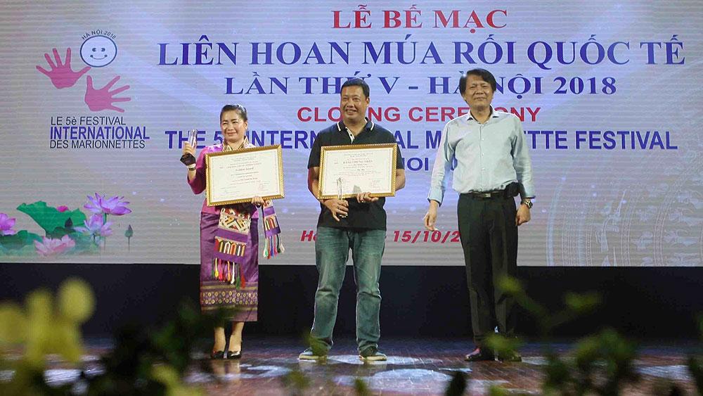 Nghệ sĩ Việt Nam giành nhiều giải thưởng ở Liên hoan múa rối quốc tế 2018