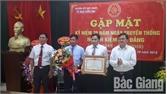 Ủy ban Kiểm tra Huyện ủy Lục Nam nhận Bằng khen của Thủ tướng Chính phủ