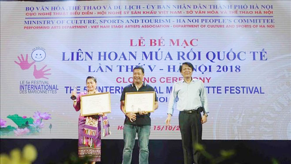Vietnam claims seven gold medals at International Marionette Festival