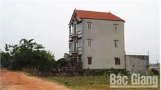 Vi phạm quản lý đất đai tại xã Châu Minh (Hiệp Hòa): Chuyển vụ việc sang cơ quan công an