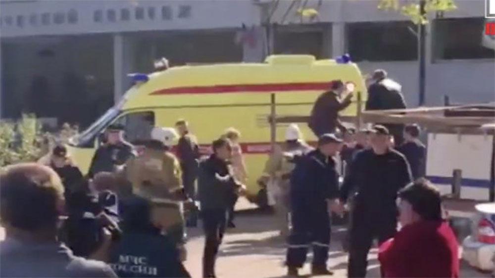 Hàng chục người thương vong trong vụ tấn công khủng bố tại Crimea, Nga