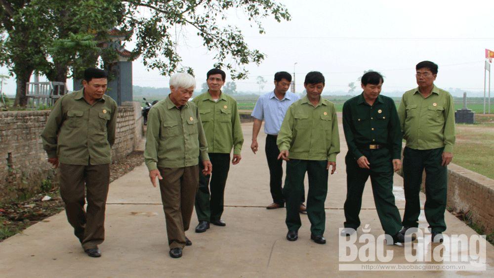 """Cựu chiến binh, hội viên giúp nhau, """"lính"""" Cụ Hồ, Bắc Giang"""