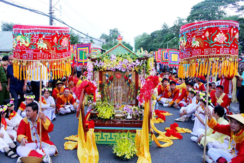 An Giang's festival, world's heritage, Chau Doc city, UNESCO's recognition,  Ba Chua Xu Temple Festival, intangible cultural heritage