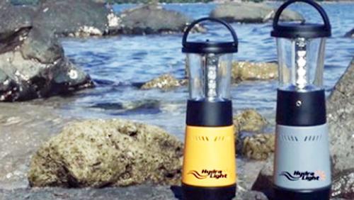 Đèn di động chạy bằng nước muối