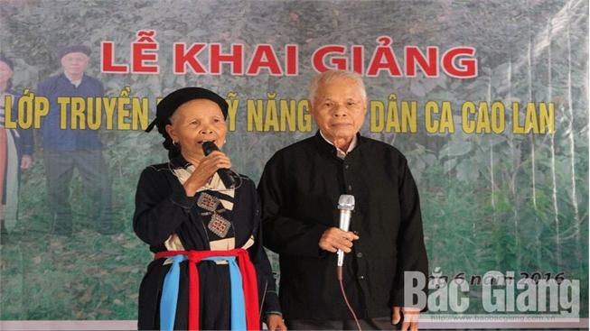 Nghệ nhân gìn giữ điệu hát sình ca