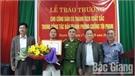 Công an huyện Lục Nam khen thưởng công dân bắt trộm