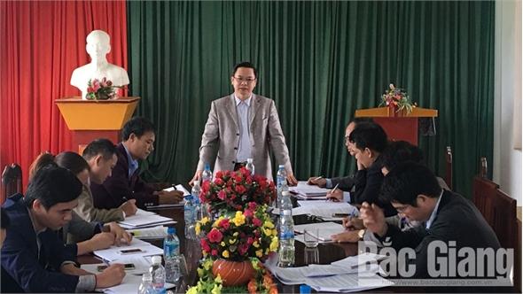HĐND huyện giám sát việc giải quyết kiến nghị của cử tri tại thị trấn Tân Dân