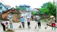 Góp sức cho làng quê sạch đẹp